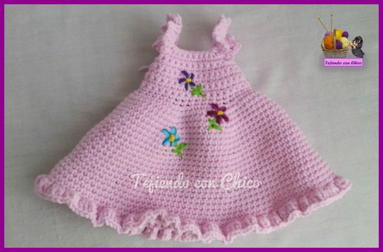 Amigurumis: Vestido para Muñeca 2