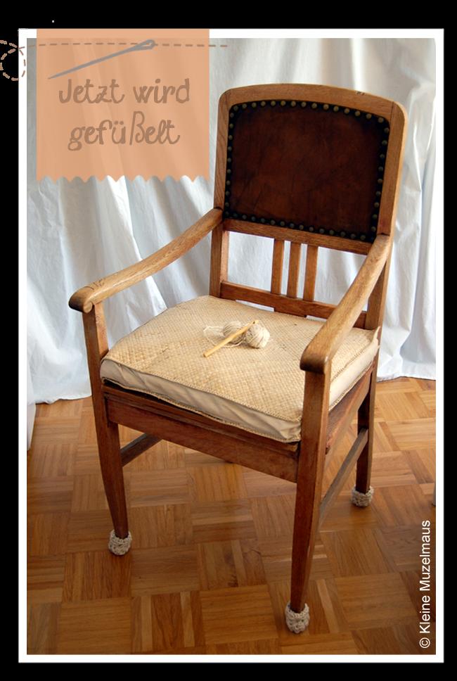kleine muzelmaus geh kelte stuhlsocken. Black Bedroom Furniture Sets. Home Design Ideas