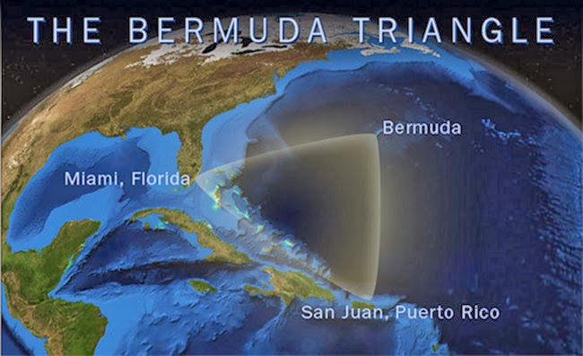 Pengalaman ngeri segitiga Bermuda