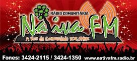Baixo O Aplicativo da Rádio Nativa Fm