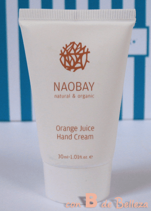 Orange juice hand cream Naobay