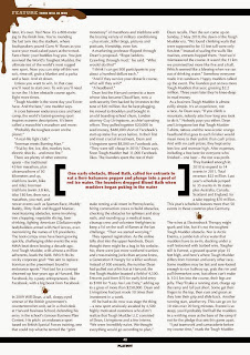 Scan Copy of Playboy South Africa June 2013 issue.
