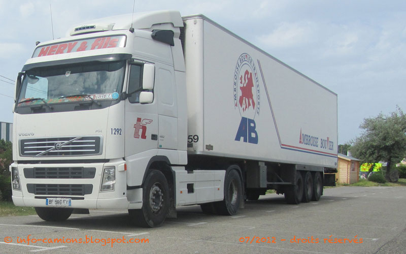 info camions volvo fh transports h ry groupe ambroise. Black Bedroom Furniture Sets. Home Design Ideas