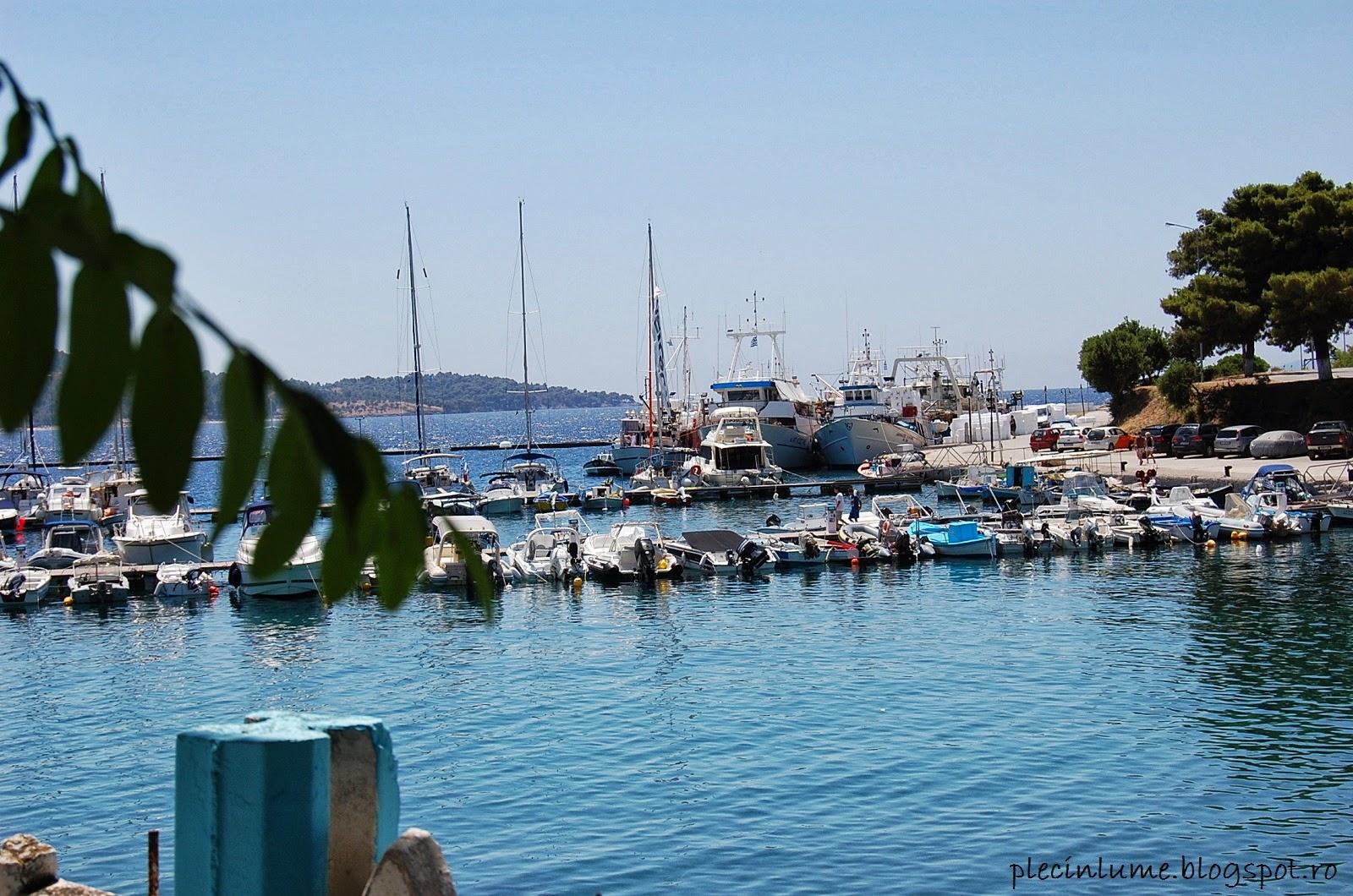 Portul din Neos Marmaras