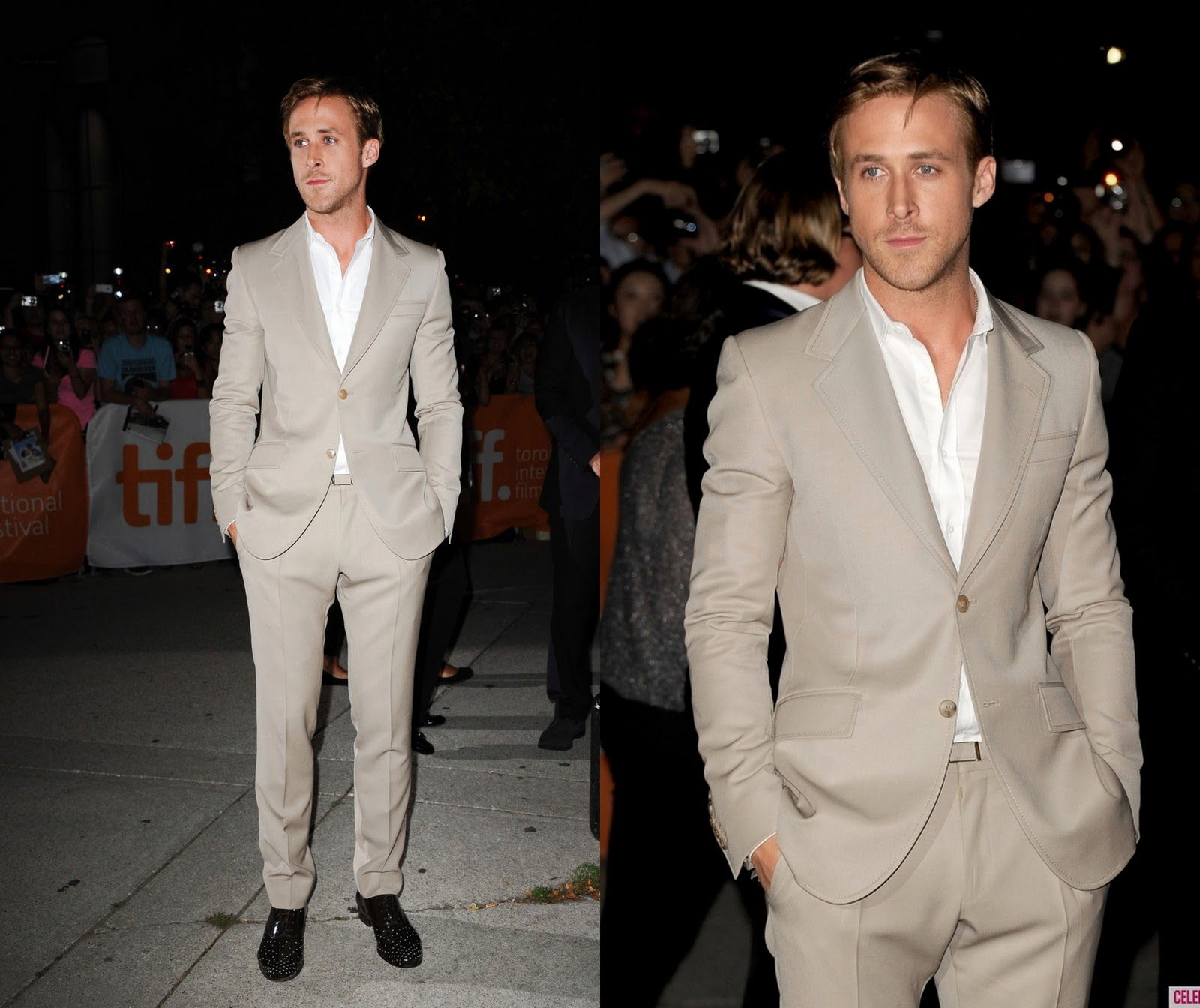 Ryan Gosling Suit (in gucci suit)