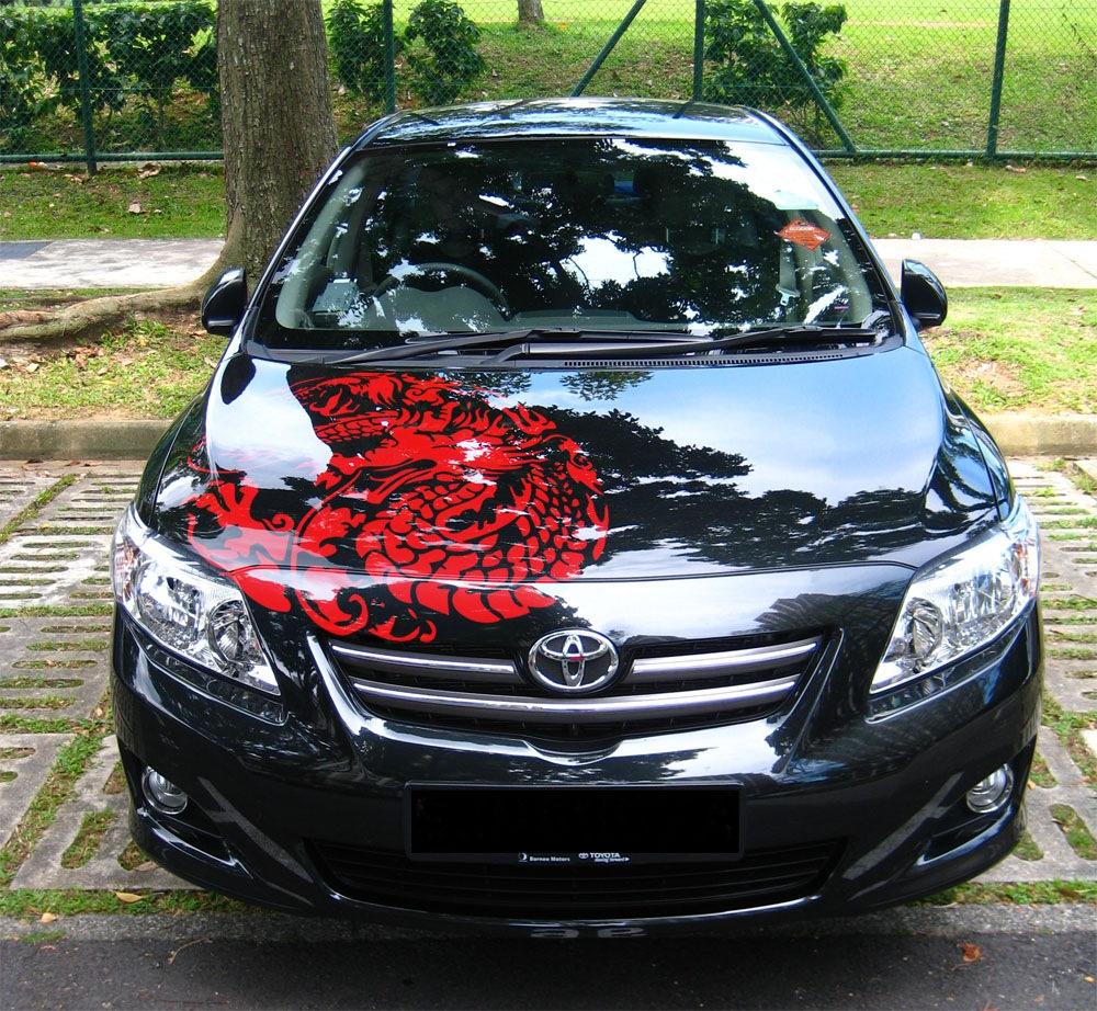 Custom car sticker designer - Car Decal Stripes Custom