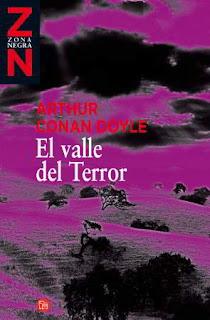 Portada del libro el valle del terror para descargar en epub y pdf