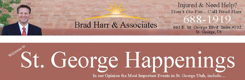 St. George, Utah Upcoming Activities/Events/Happenings