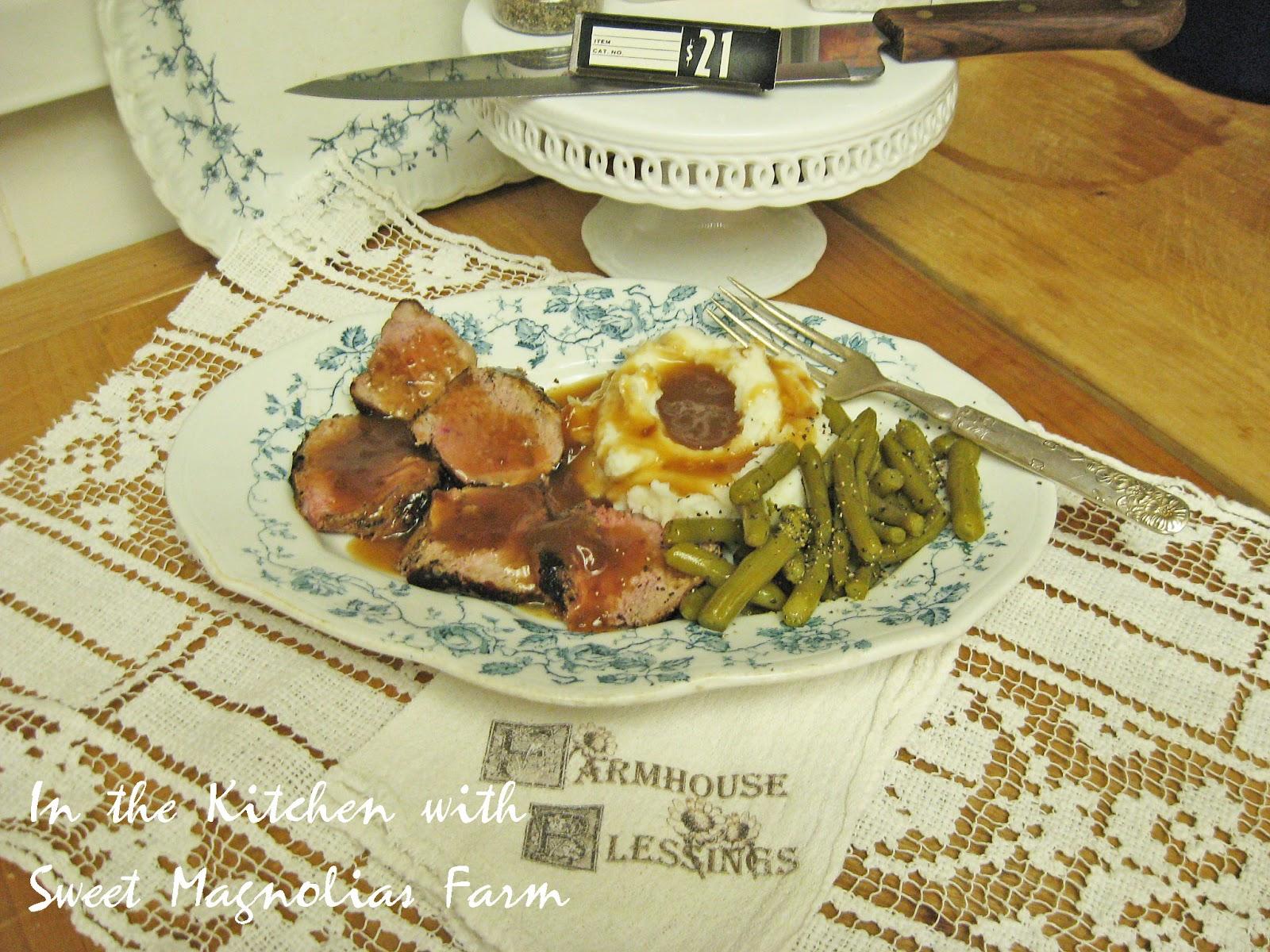 Sweet Magnolias Farm Pork Tenderloin Roast Good Old Fashioned Cooking &q