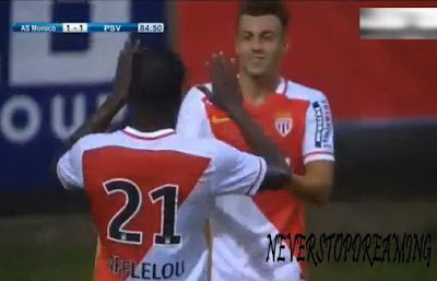 Stephan El Shaarawy Debut Goal AS Monaco