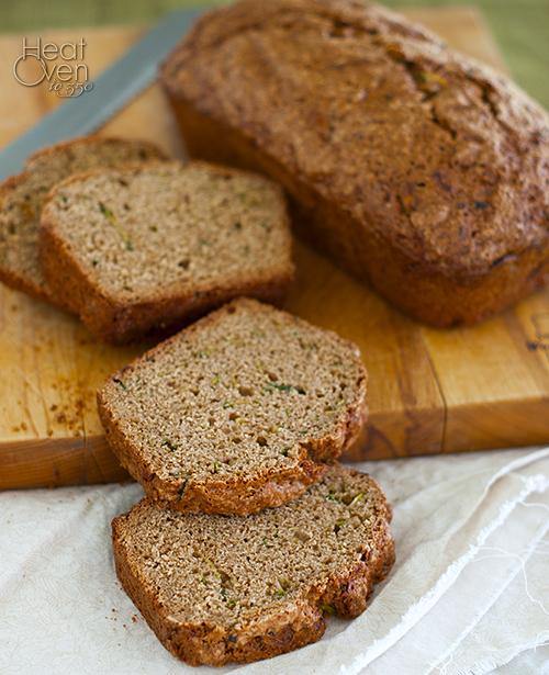 Light Zucchini Bread