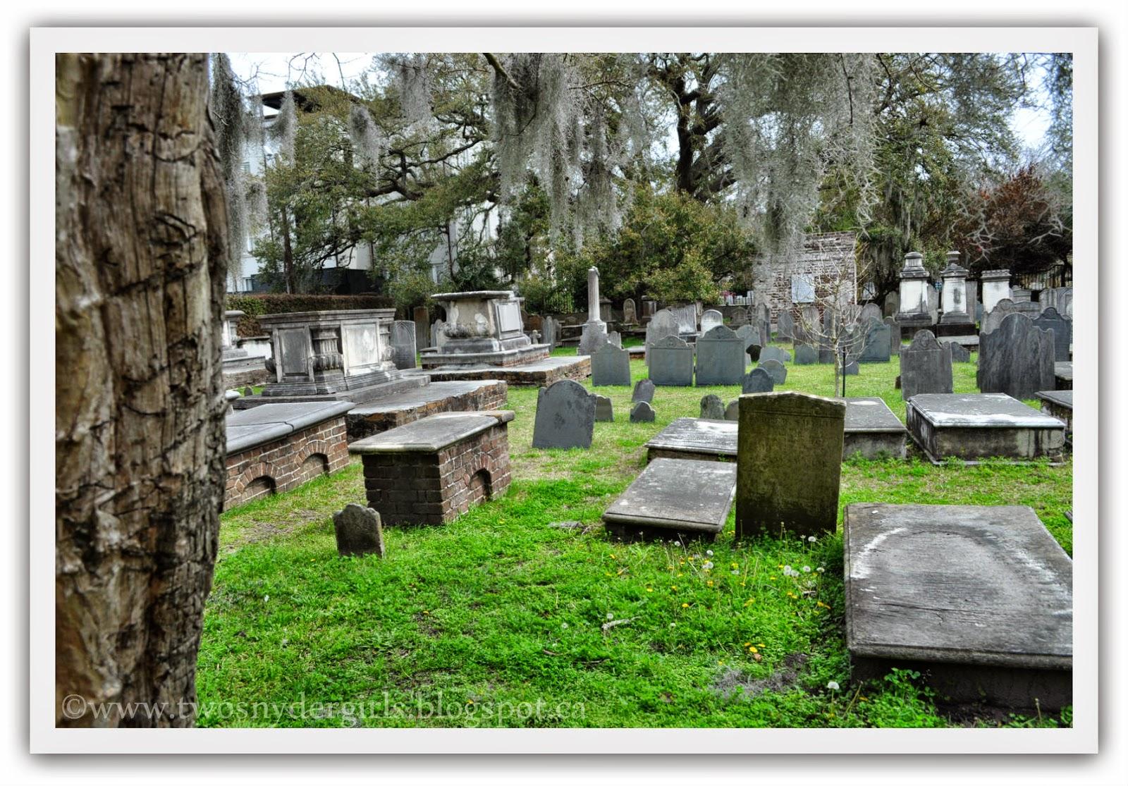 Cemetery Charlestown SC.