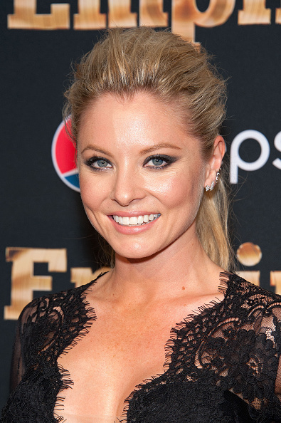 Kaitlin Doubleday Wearing Parade Jewelery