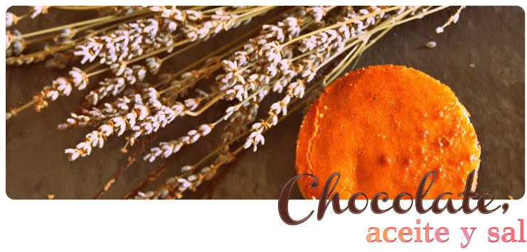 Chocolate, Aceite y Sal
