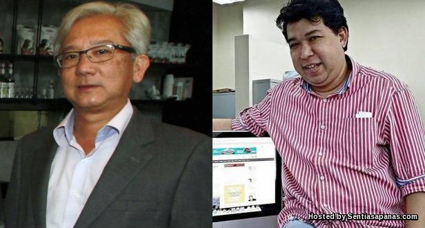 Ho Kay Tat dan Jahabar Sadiq
