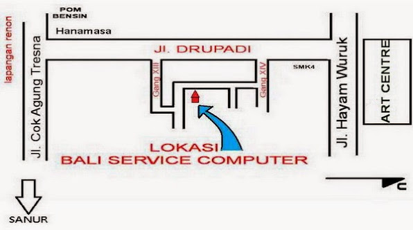 alamat service center