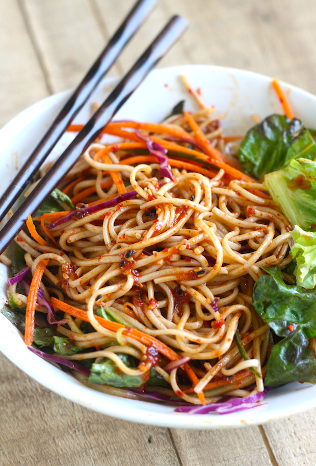... that's it! Spicy Korean Cold Noodles for the perfect summer lunch