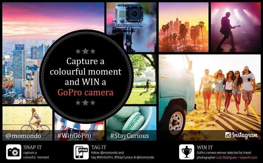 Win a GoPro with MOMONDO!