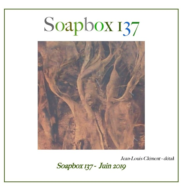 SOAPBOX 137, FEUILLET DE L'UMBO, ART & POÉSIE, JUIN 2019