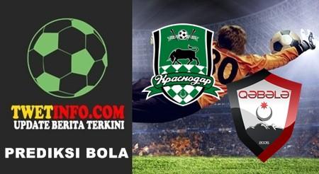 Prediksi FC Krasnodar vs FK Qabala
