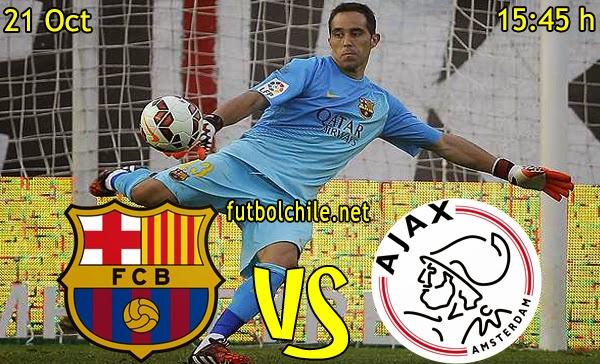 Barcelona vs Ajax - Champions League - 15:45 h - 21/10/2014