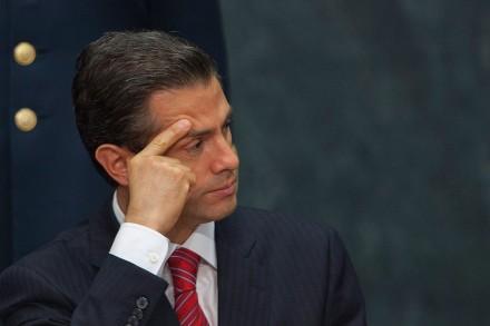 mexico government peña nieto s plans for successor go down a tunnel