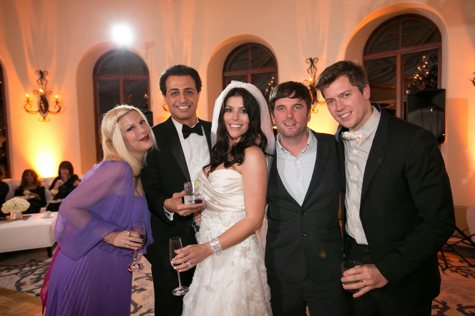 Tori Spelling Wedding