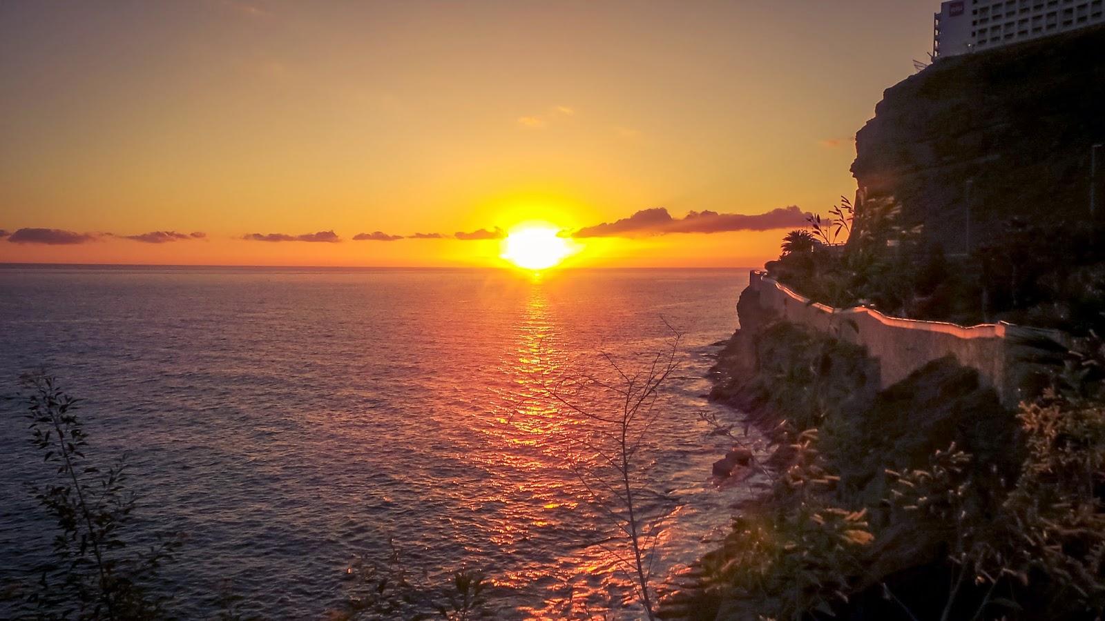sunset in gran canaria