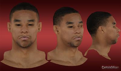 NBA 2K13 Jared Sullinger Cyberface Mods