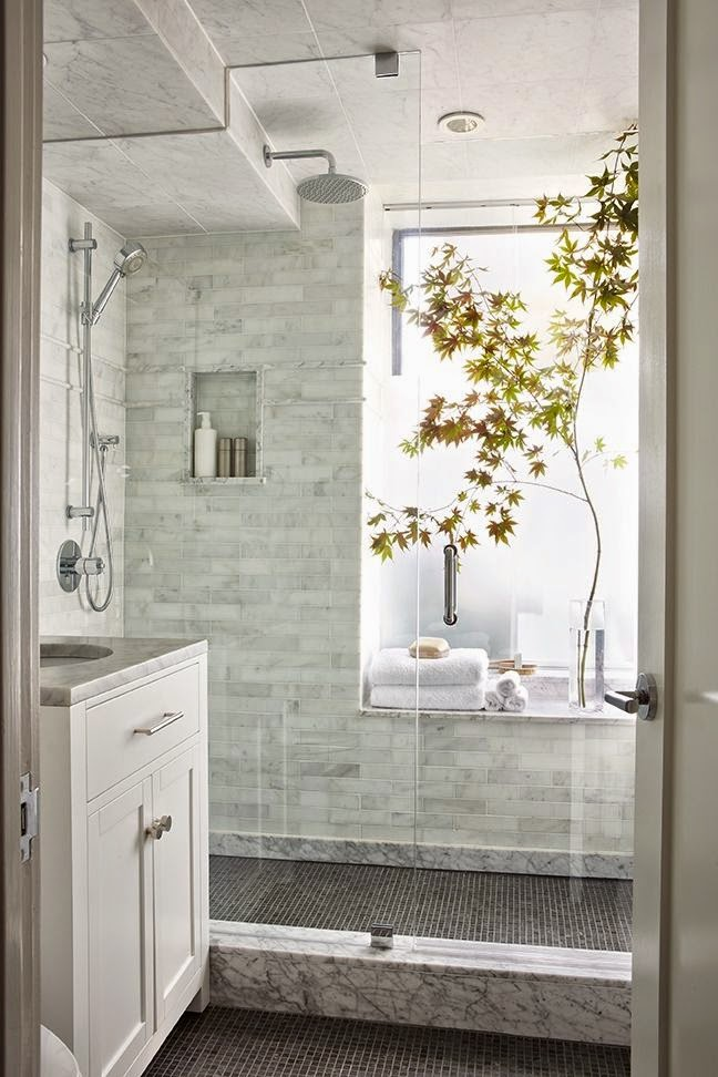 white-walk-in-rain-shower-window