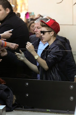Justin Bieber Australia 2012