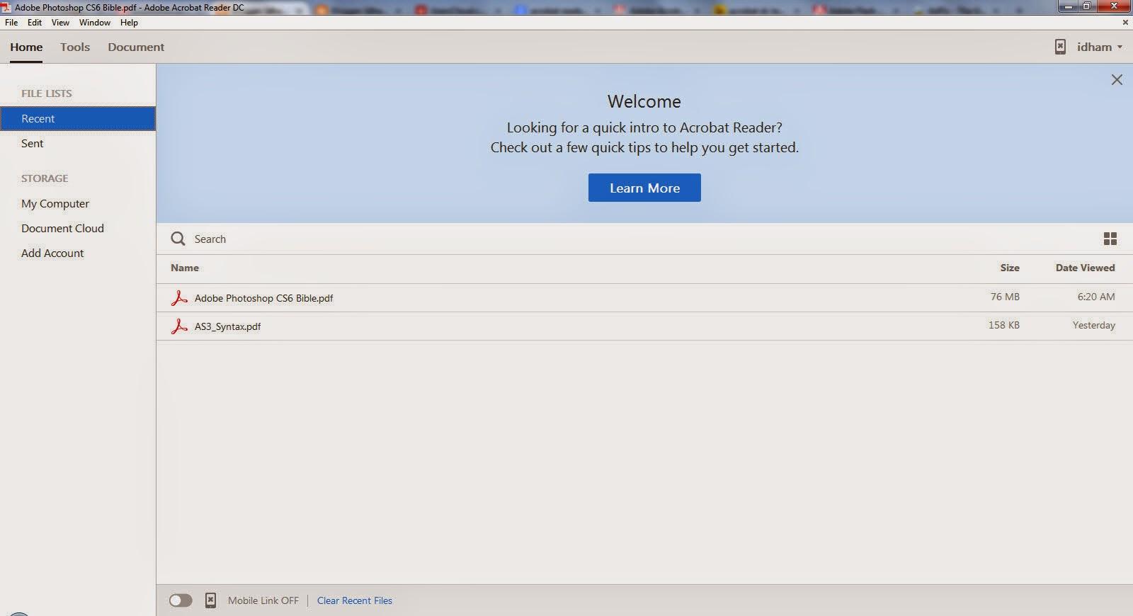 acrobat reader dc offline installer
