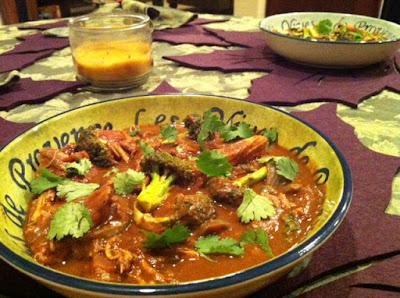 NomEatNom - Chicken and Pumpkin Stew à la Crockpot