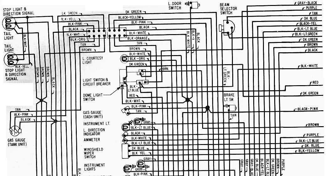 1965 Chevrolet    Corvette       Wiring       Diagram      All about    Wiring
