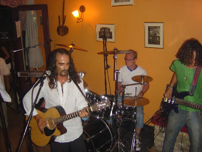 Pelekas Corfu Live Music In Bar