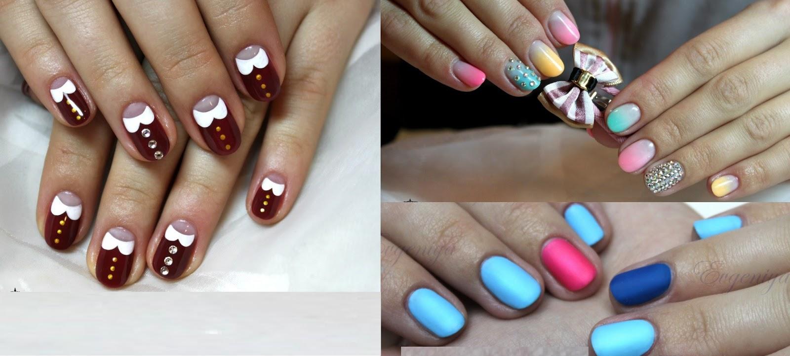 Простые идеи дизайна ногтей гель лаком фото новинки