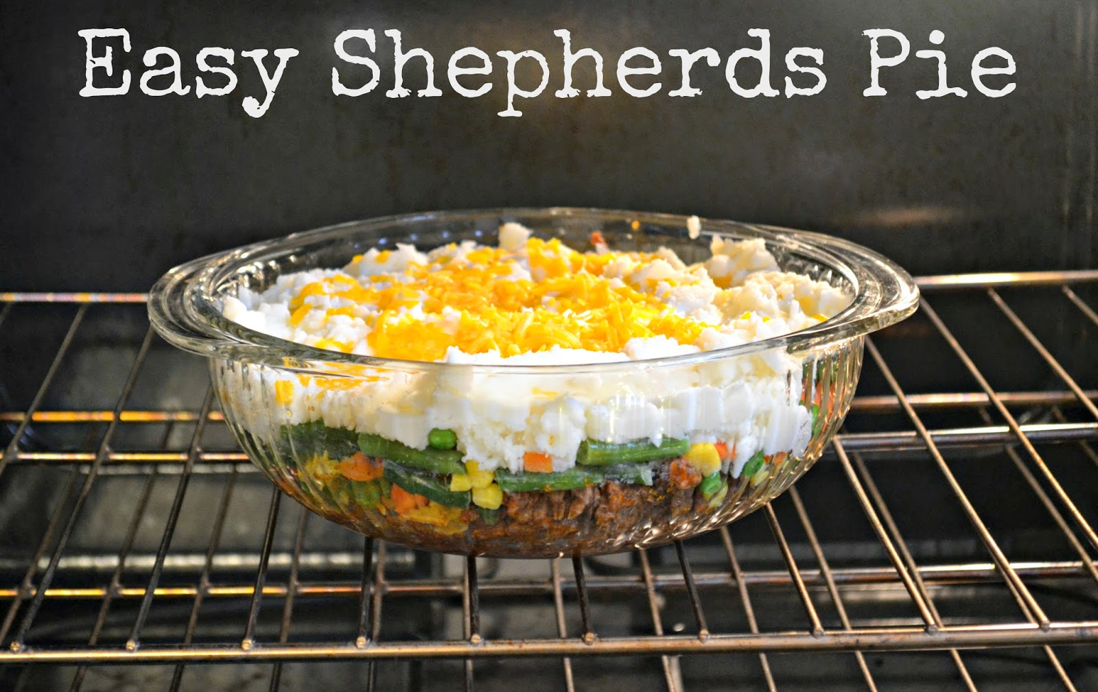 Easy Shepherds Pie #Recipe |Building Our Story