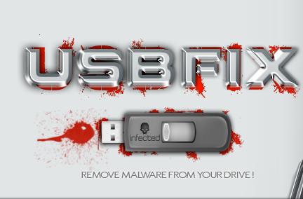فحص وحذف الفيروسات من مفتاح USB