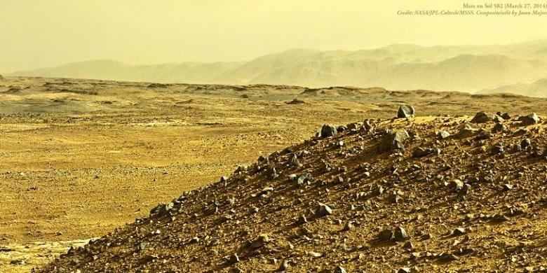 Penemuan Gas Metana di Mars