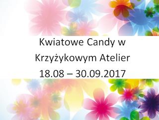 Kwiatowe candy u Iwonki