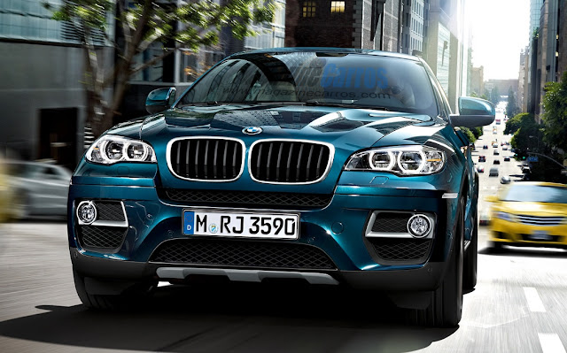 Frente do Novo Bmw X6 2014