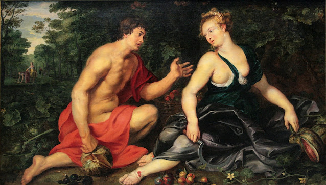 Roman Feast of Pomona, the goddess of fruits and seeds