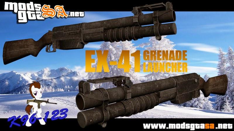 SA - EX-41 Grenade Launcher