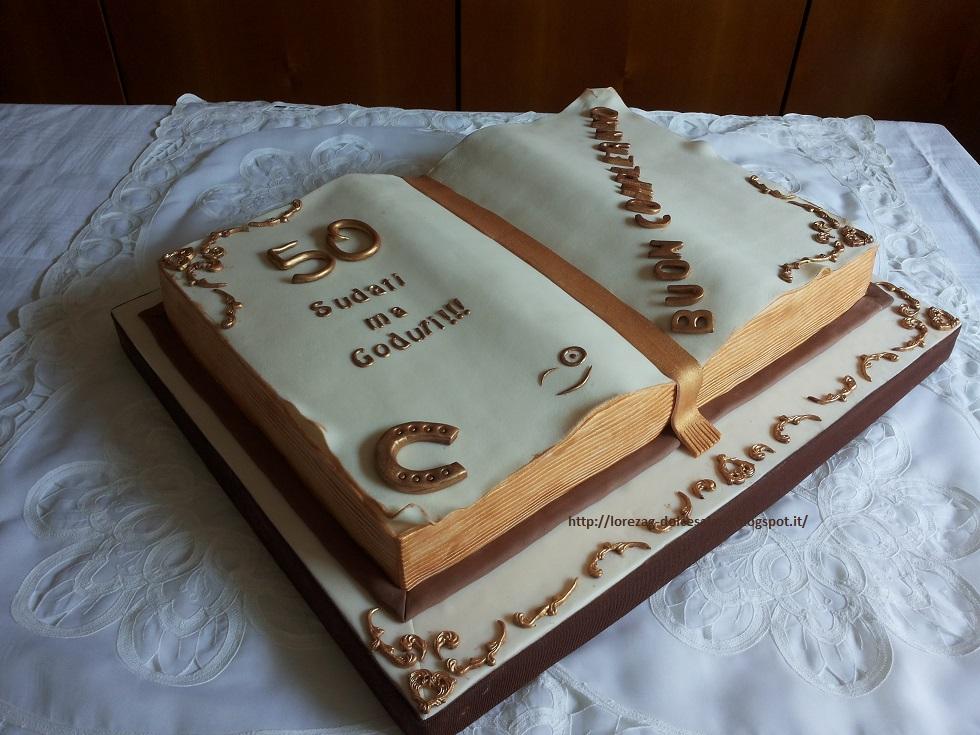 Le torte di lorena e non solo torta libro per un for Foto di un libro