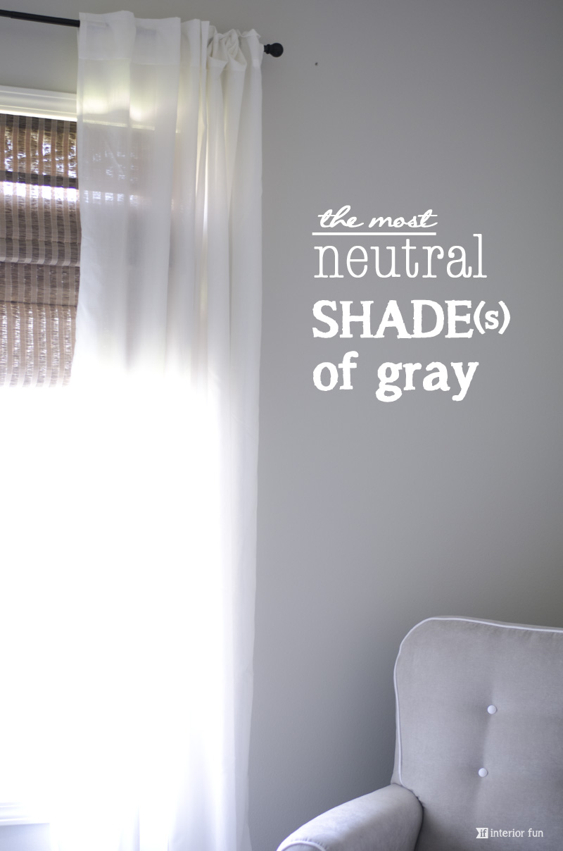 Interior Fun: The Perfect Shade of Gray