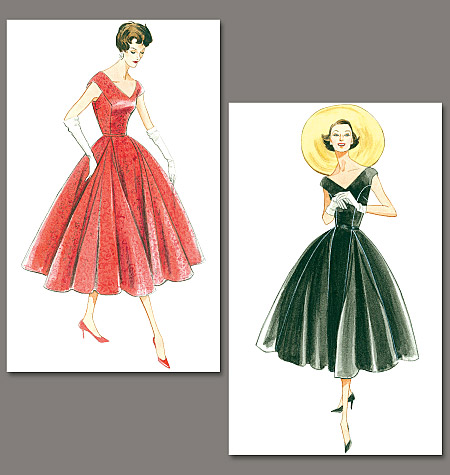 Vogue vintage dress patterns