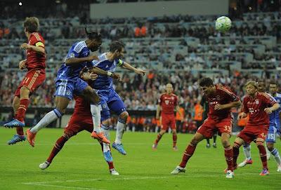 Vitória com muito sacrfício do Chelsea na UCL