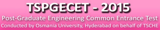 TS PGECET Results 2015 Rank Card Download
