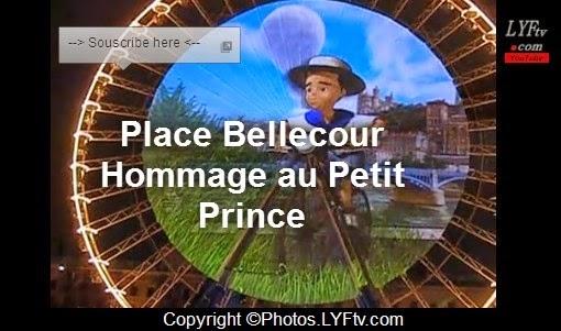Fête des lumières Place Bellecour Lyon 2014