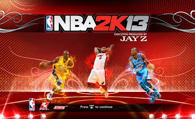 2K13 NBA's Big3 Kobe Bryant, LeBron James, Kevin Durant